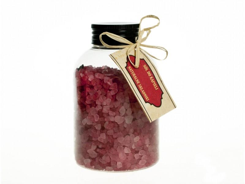 Cranberry Bath Salts 500ml