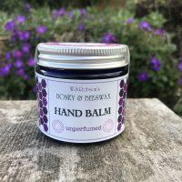 Honey and Beeswax Natural Hand Balm (Unperfumed) 50g
