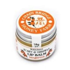Honey & Beeswax Natural Lip Balm (Tangerine) 18g
