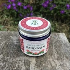 Honey and Beeswax Natural Hand Balm with Geranium 50g