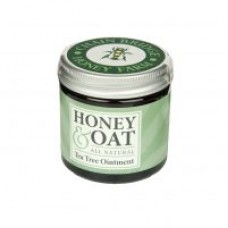 Honey and Oat All Natural Ointment with Tea Tree 50g