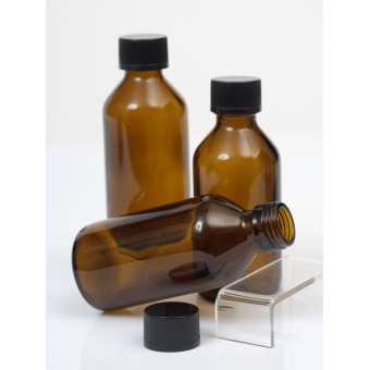 50ml Amber Glass Bottle