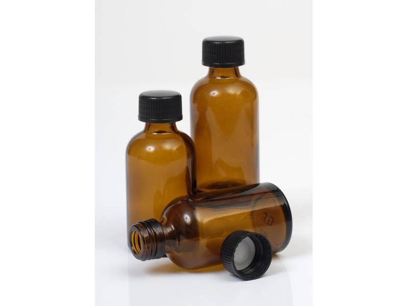 30ml Amber Glass Bottle