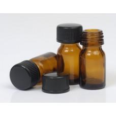 5ml Amber Glass Bottle