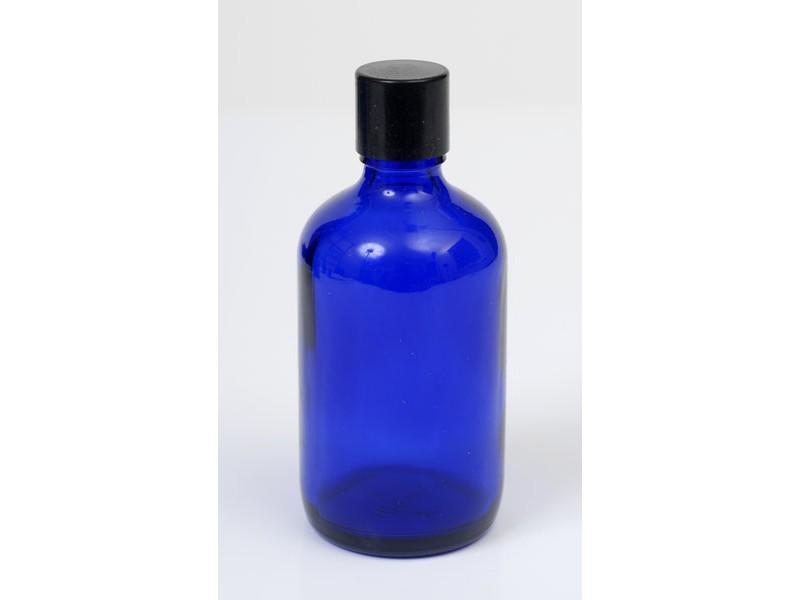 100ml Blue Lake Glass Bottle
