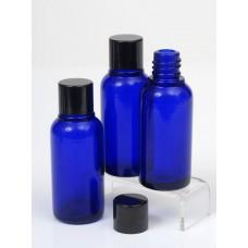 30ml Blue Lake Glass Bottle