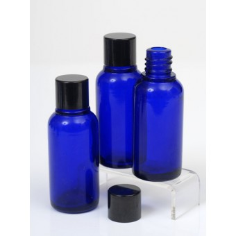 30ml Blue Lake Glass Bottle