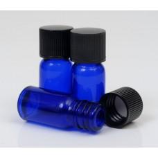 5ml Blue Lake Glass Bottle