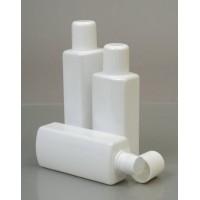 200ml Ovale White Plastic Bottle