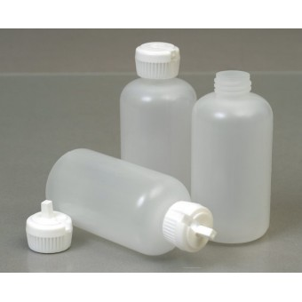 125ml Squeezy Opaque Plastic Bottle