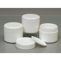 50ml White Plastic Jar
