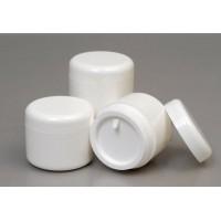 30ml White Plastic Jar