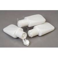 50ml Lay Flat White Plastic Bottle