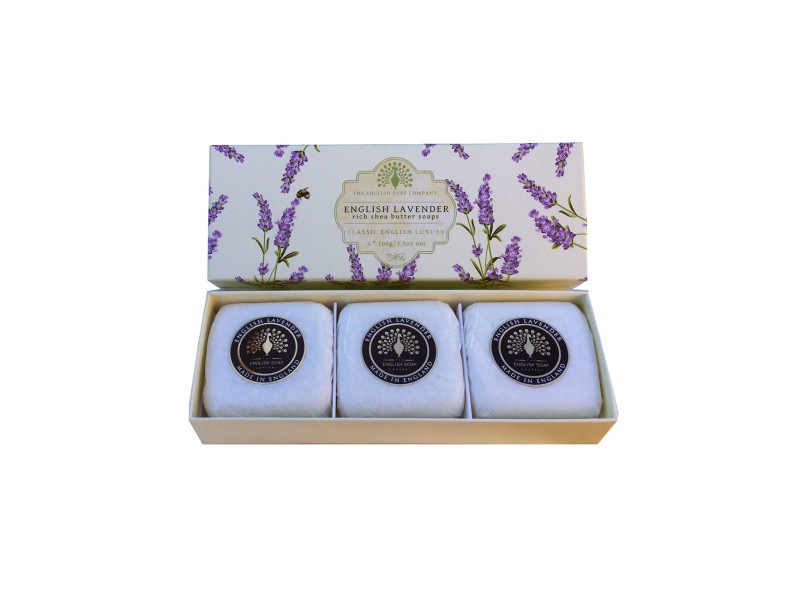 English Lavender - Gift Box Hand Soap