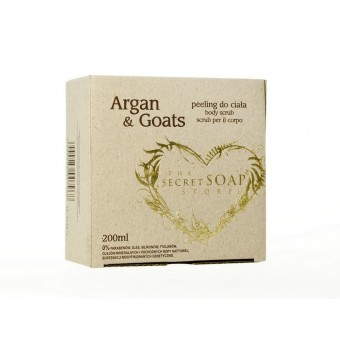 Body Scrub Argan & Goats