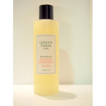Green Farm Shampoo with Keratrix & SLS free