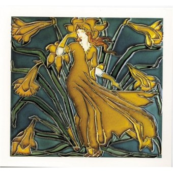 Figure with Daffodils