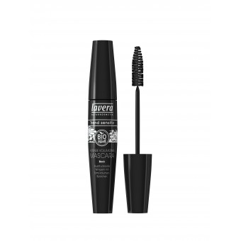 Intense Volumising Organic Mascara- Black