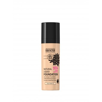 Natural Liquid Foundation - Ivory Nude 02 - 30ml