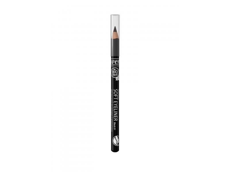 Organic Soft Eyeliner Pencil- Black 01