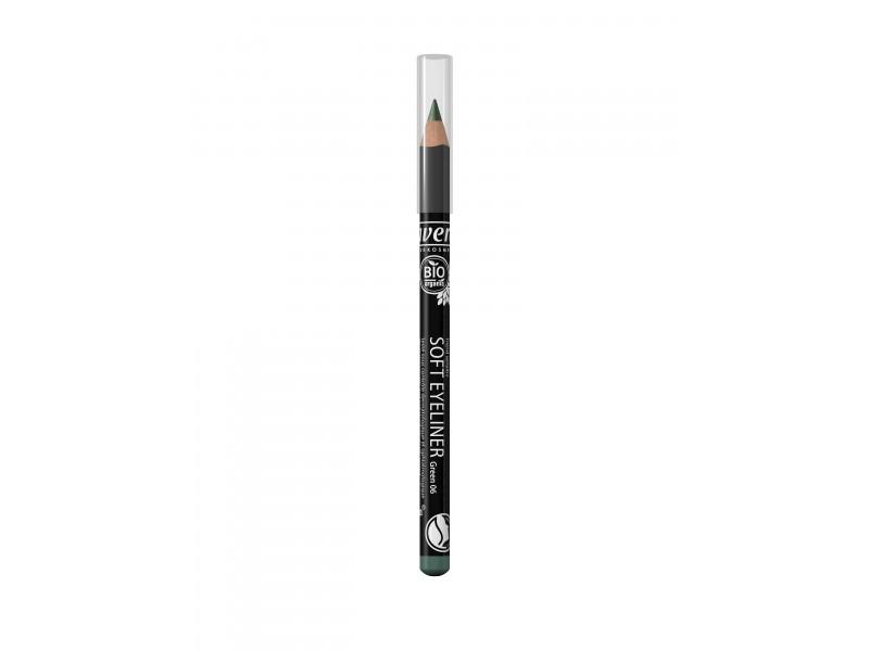 Organic Soft Eyeliner Pencil- Green 06