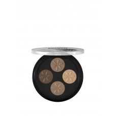 Mineral Eyeshadow Quattro Cappuccino Cream 02