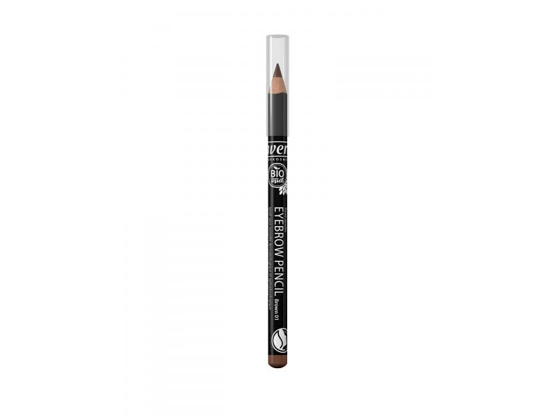Organic Eyebrow Pencil - Brown 01
