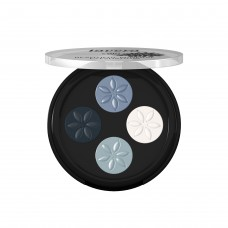 Mineral Eyeshadow Quattro - Blue Platinum 07