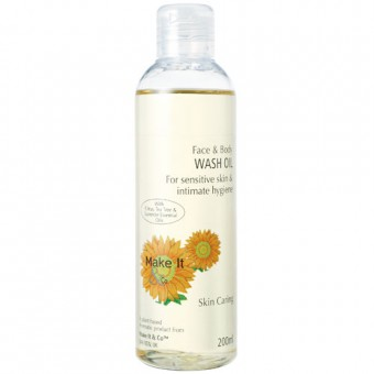 Citrus Face & Body Wash Oil
