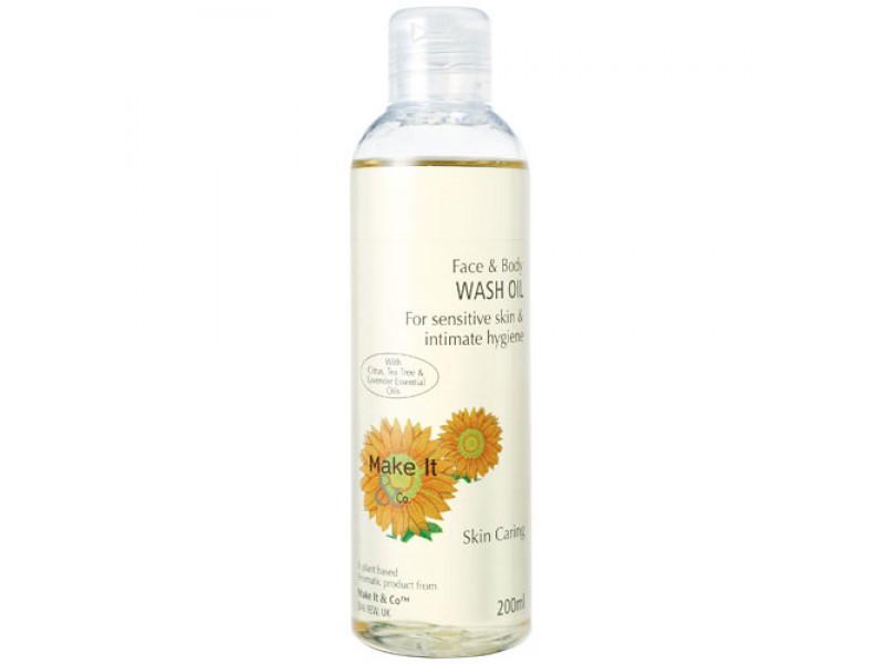 Citrus Face & Body Wash Oil
