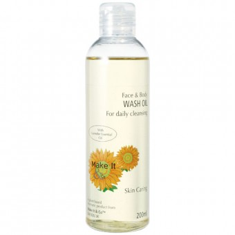 Lavender Face & Body Wash Oil