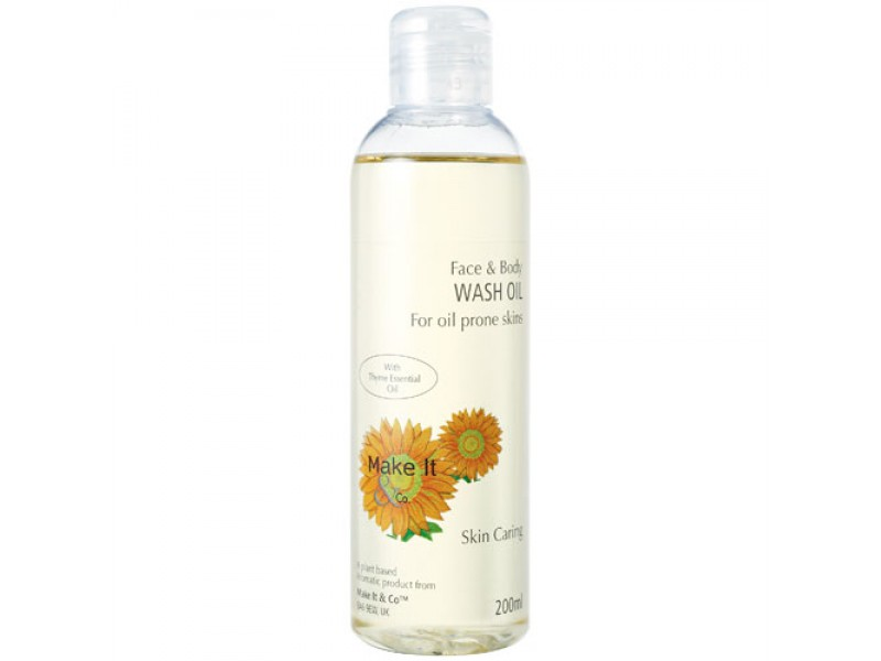 Thyme Face & Body Wash Oil