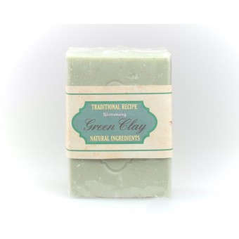 Slimming Green Clay Natural Soap