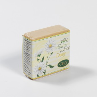 Olive Oil Soap with Daisy