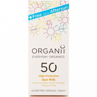 Sun Milk SPF50 125ml with FREE After Sun Cream 50ml