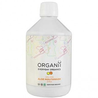 Organic Mouthwash - Aloe and Citrus - 500ml