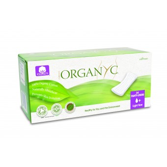 Panty Liners 100% Organic Cotton Organic/Vegan