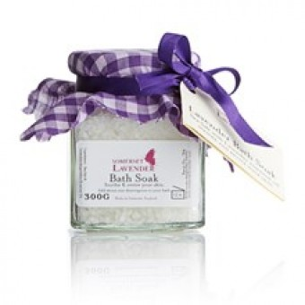 Lavender Bath Soak Jar 300gm