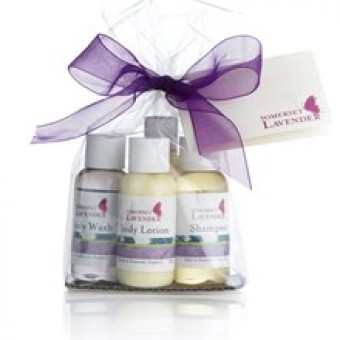 Lavender Travel Gift Set