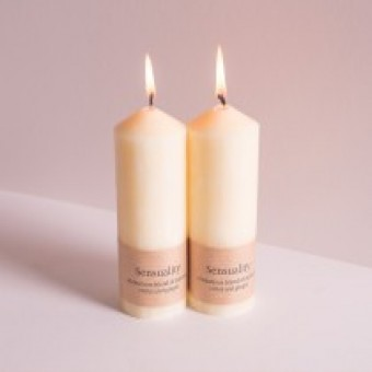 "Sensuality Scented 2""x 6"" Pillar Candle"