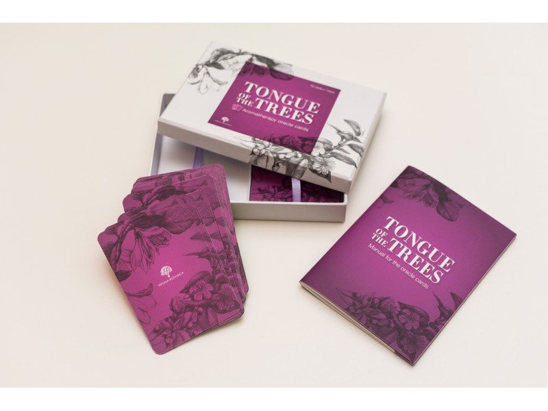 Aromatherapy Oracle Cards: 'Tongue of the Trees'